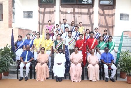 St. Anne's Convent School, Sector 32 Chandigarh School Parliament with Fr. James Gin School Manager, Principal Dr. Sr. Shyni Paul and others - Copy